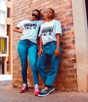 Focused Girls Rock T-shirt